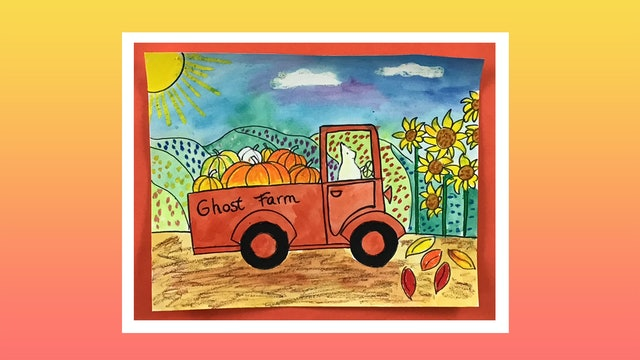 Pumpkin Truck - Grades 2-4