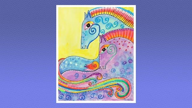 Magical Horses - Grades 5-6