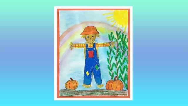 Happy Scarecrow - Grades K-2