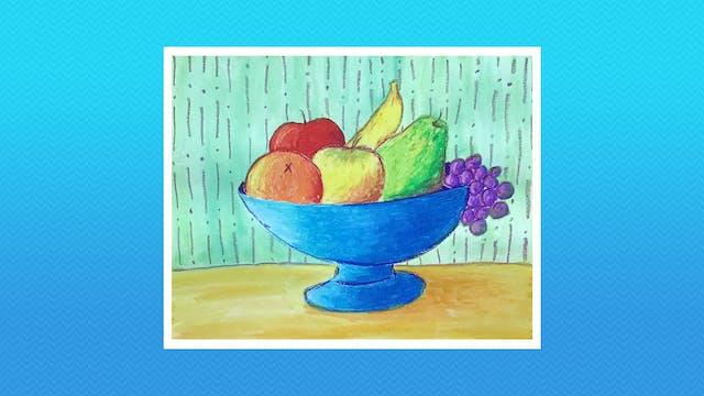 Cezanne-Inspired Still Life - Grades K-2