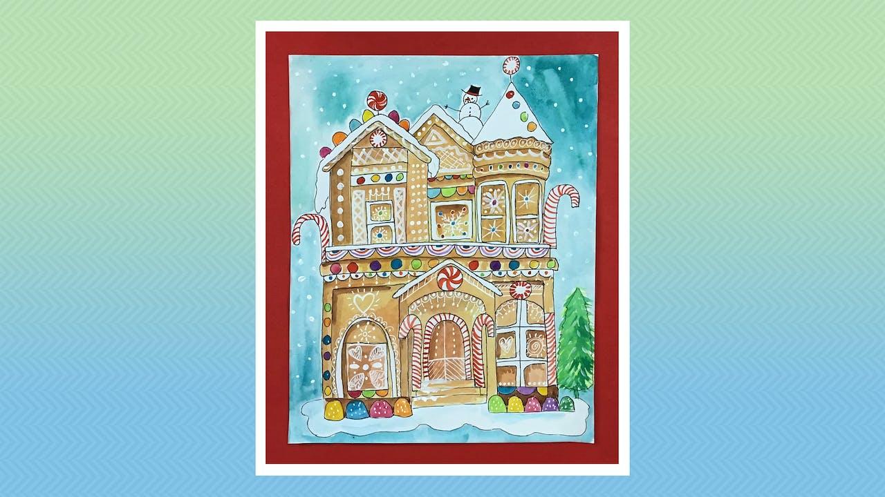 Gingerbread Mansion - For Grades 5-6