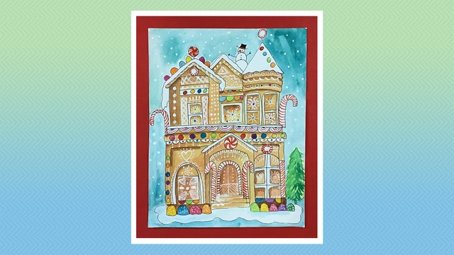 Gingerbread House - Grades 5-6
