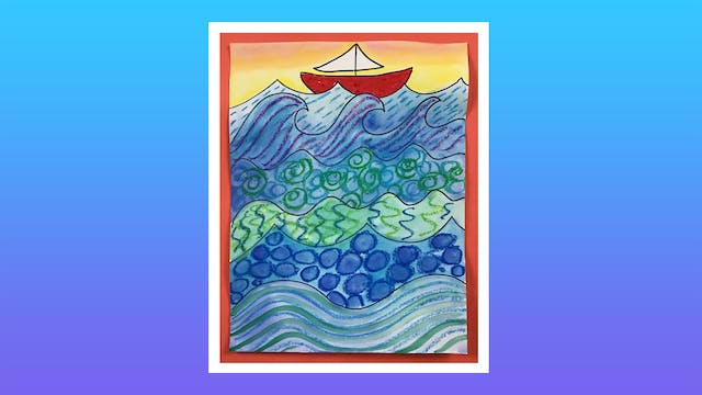 Whimsical Waves - Grades K-2