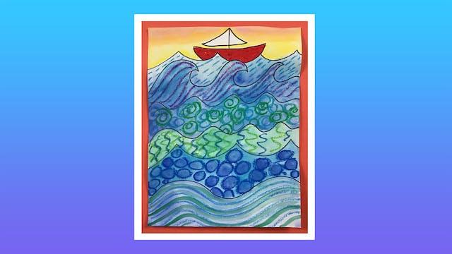 Whimsical Waves - Grades K-2