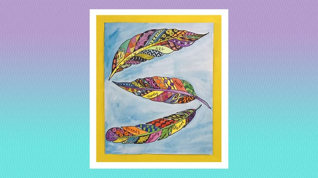 Gratitude Feathers - Grades 5-6