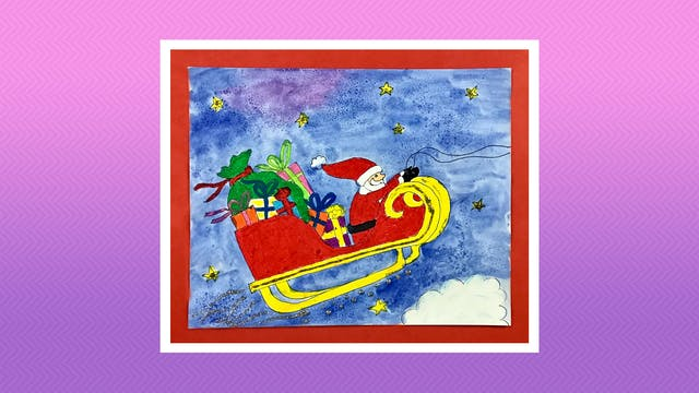 Santa's Sleigh - Grades 3-4