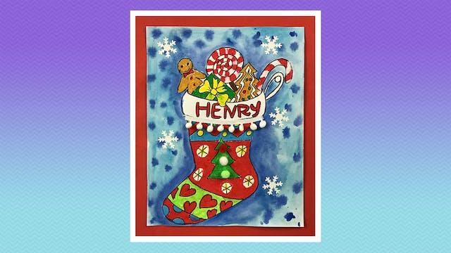 Holiday Stocking - Grades K-2