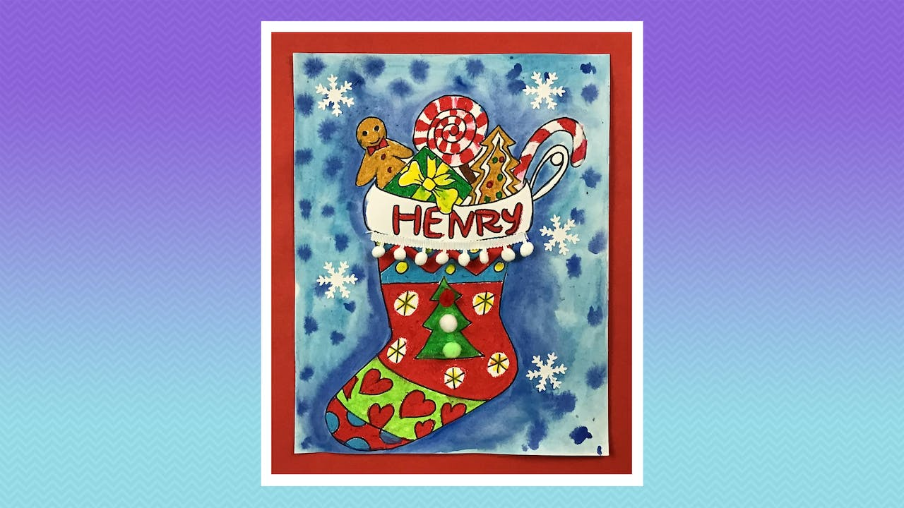 Holiday Stocking - Grades K-2