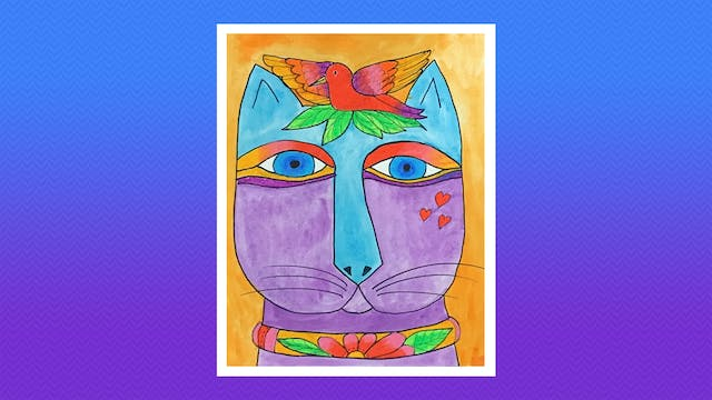 Dream Cat - Grades K-2