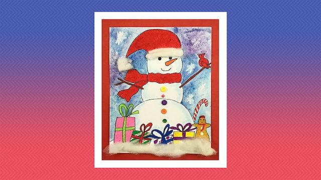 Snowman - Grades K-2