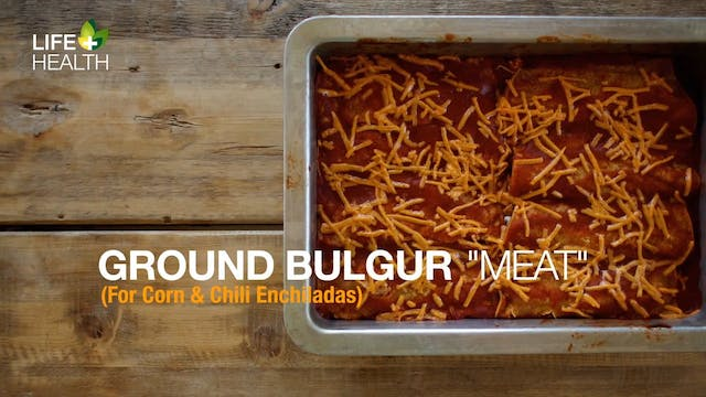 "Ground Bulgur ""Meat"""