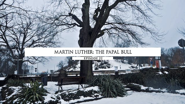 22 Martin Luther- The Papal Bull