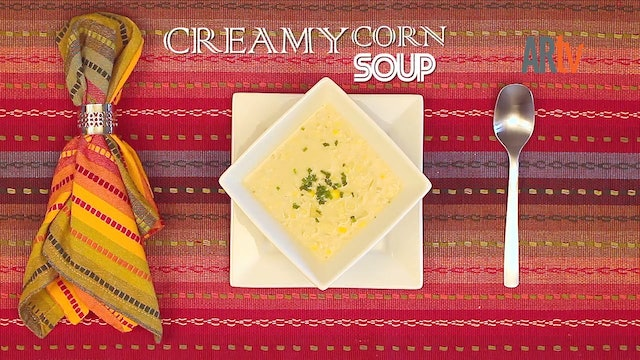 ARTV Cooking - Creamy Corn Soup