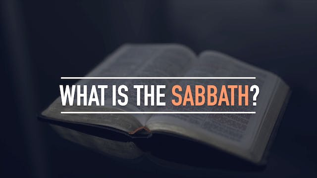 What is the Sabbath?
