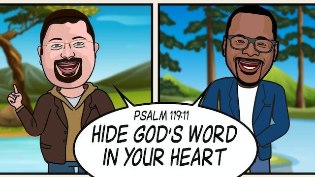 Psalm 119:11: Hide It In Your Heart S...
