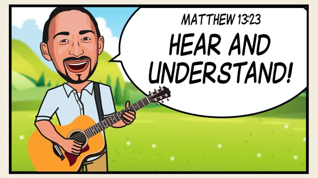 Matthew 13:23:  Hide It In Your Heart...