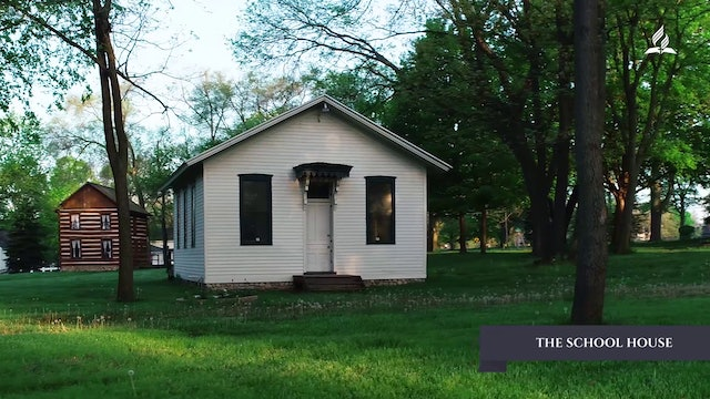 The Past With a Future - The School House