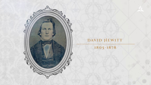 The Past With a Future - David Hewitt Exhibit