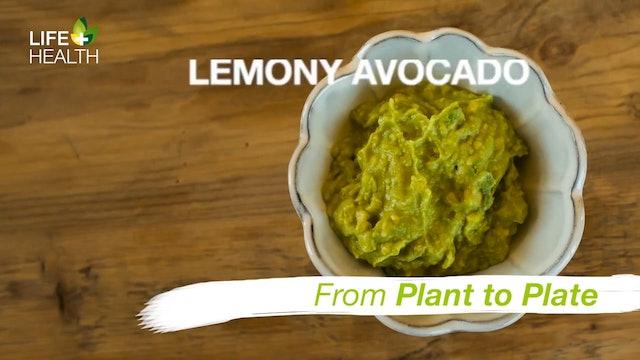 Lemony Avocado Dip