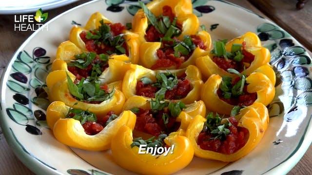 Roasted Peppers and Marinara