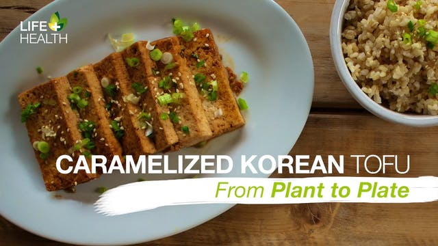 Caramelized Korean Tofu