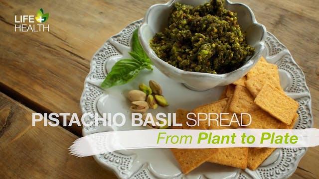 Pistachio Basil Spread