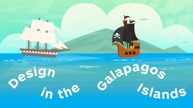 Design in the Galapagos Islands