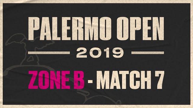 Zone B - Match 7