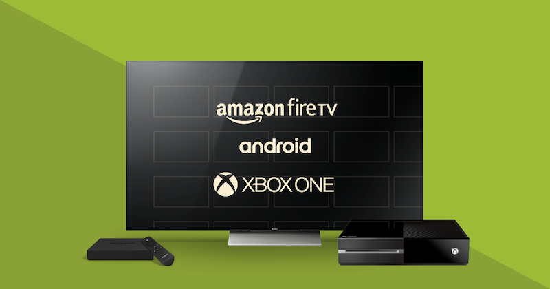 Launch OTT Apps on Android TV, Amazon Fire TV, and Xbox One
