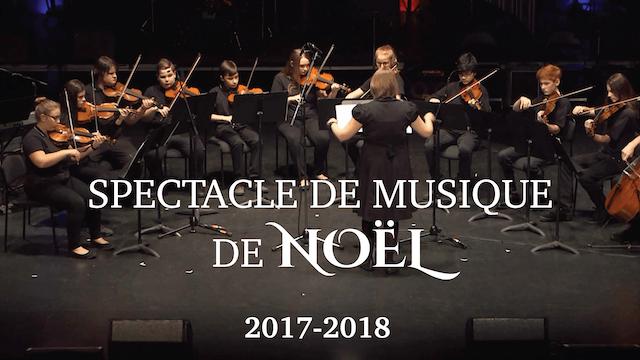 Spectacle de musique de Noël 2017-2018