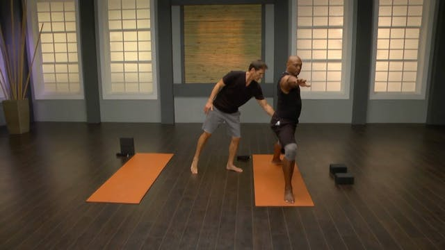 Eddie George: Power, Balance & Stability