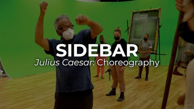 Sidebar Julius Caesar: Choreography
