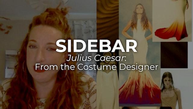 Sidebar Julius Caesar: Costumes with Mattie Ullrich