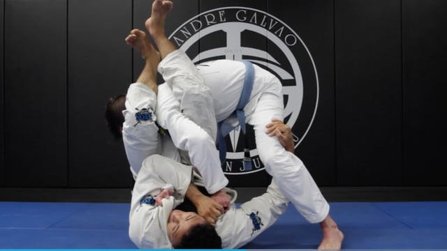 Arm Bar When Opponent Stands Up In Cl...