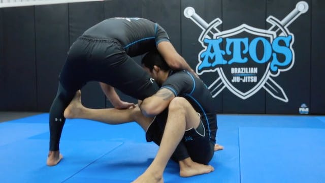Coming Up for the Single Leg Takedown...