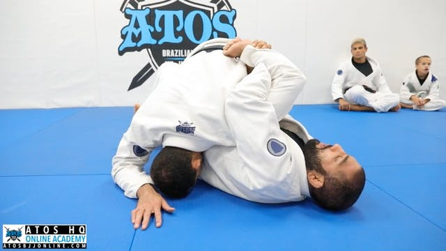 Kimura From Half Guard Knee Shield - ...