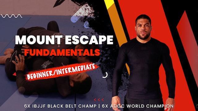 Mount Escape Fundamentals | Andre Galvao