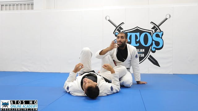 Perfect Kimura From Top Reverse DLR -...
