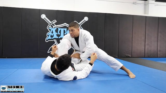 Leg Drag Counter to the Knee Shield