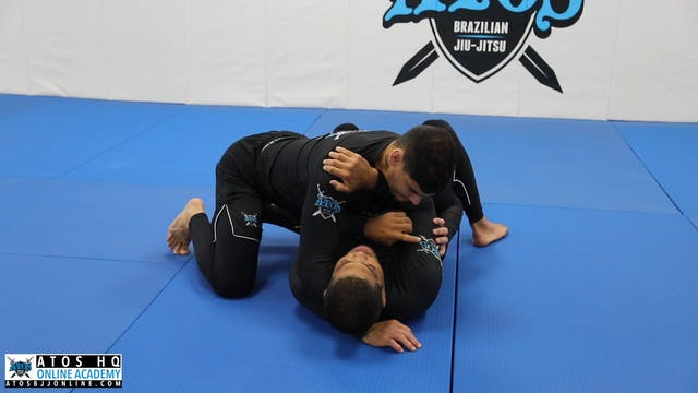 Basic Side Control Escape Using the Frame