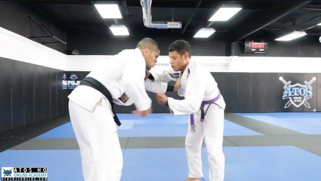 Andre Galvao vs Purple Belt Julianderson