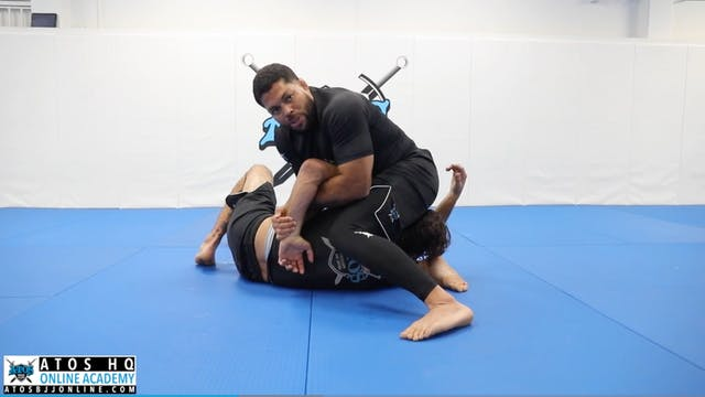 Two Side Control Submissions - Kimura...