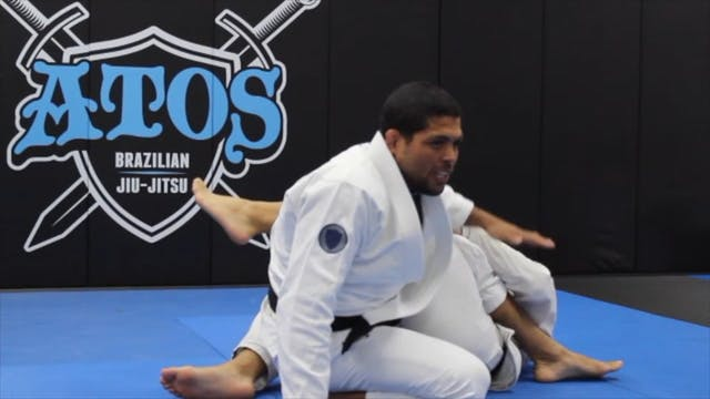 """The """"Lassoplata"""" With """"K"""" Guard Sweep..."""