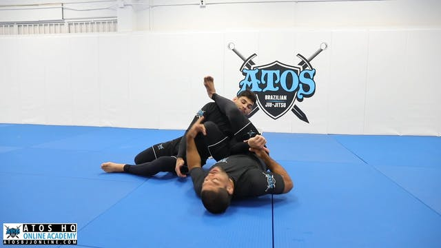 The Chin Frame Escape to Omoplata