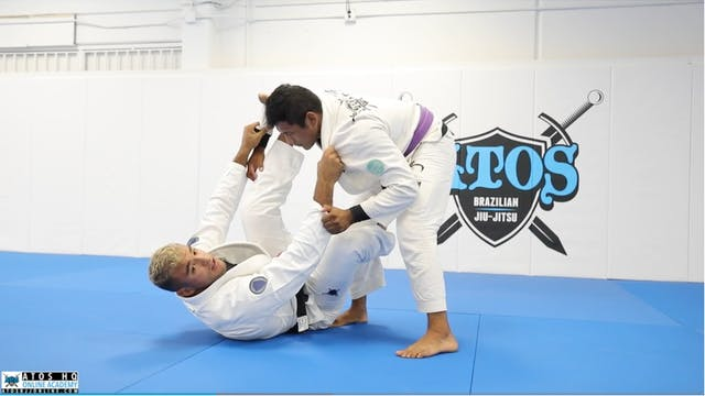 Collar Spider Guard Entry From Knee C...