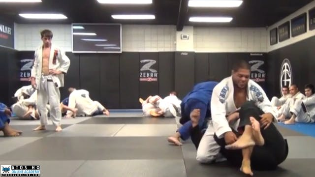 Sparring: Andre Galvao vs Carlos Duarte