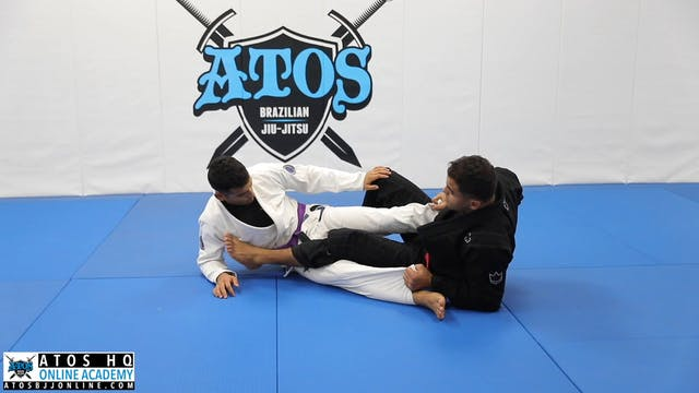Single Leg X Entry Variation When Opponent Controls Your Sleeve