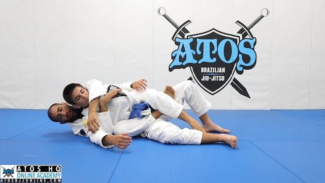 Back Control With Bow And Arrow Choke Option - Kid's Class