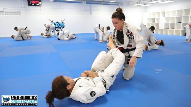 Luiza Monteiro vs Rafaela Guedes