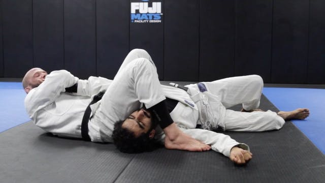 Basic Spinning Arm Bar from Side Control